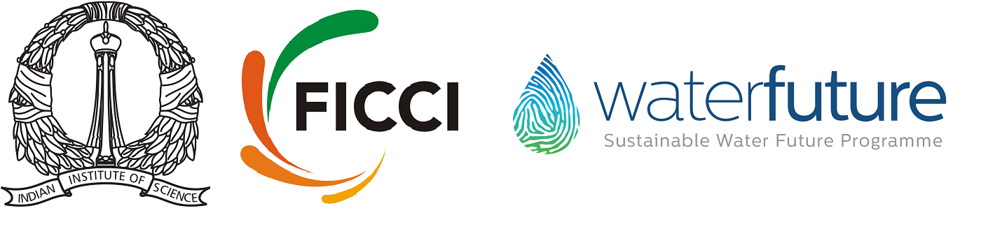 IIS, FICCI and Water Future logos